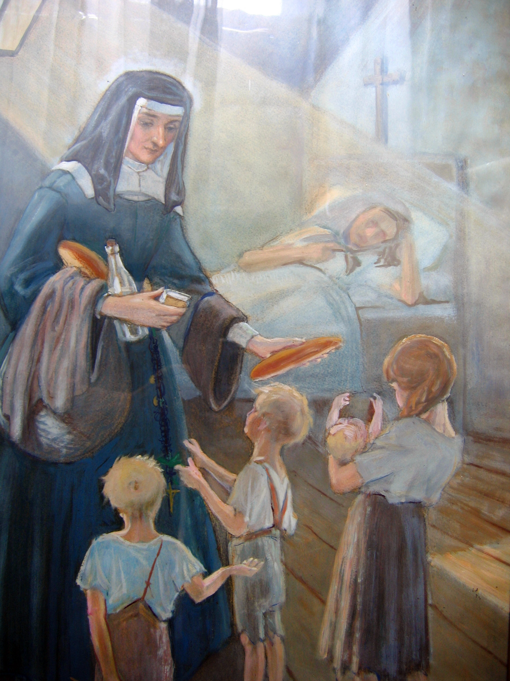 The charity of christ impelled her saint louise de for Maillesac housse